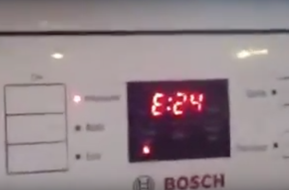 Our bosch dishwasher has developed an e24 fault sugarway ltd publicscrutiny Image collections